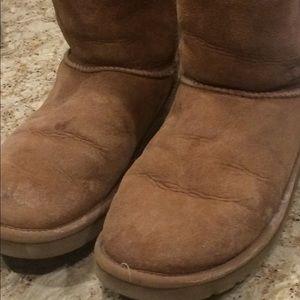 Original Tan UGG Boots, Semi-Worn